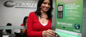 Conatel recolectó más de 3000 baterías y 1800 piezas electrónicas