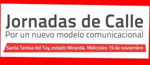 Jornadas de Calle sobre Percepción Crítica de medios llegan a Santa Teresa del Tuy