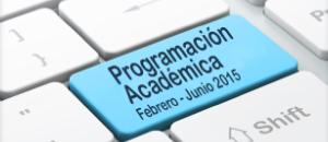 Programación académica: 37 cursos de formación en el primer semestre de 2015