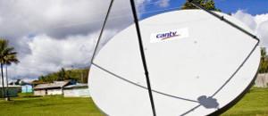 Miles de antenas satelitales brindan acceso a servicios de Internet y telefonía