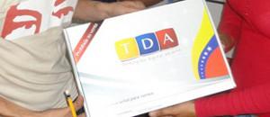 TDA beneficia a 810 mil familias venezolanas