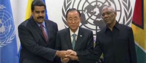 Presidente Maduro se reunió con su homólogo de Guyana