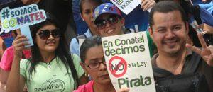 Marcha en defensa del Presupuesto Soberano recorrió Caracas