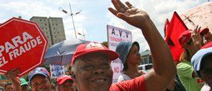 Gran marcha por la democracia recorrió Caracas