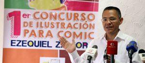 Invitan a caricaturistas a participar en concurso para ilustrar biografía de Zamora