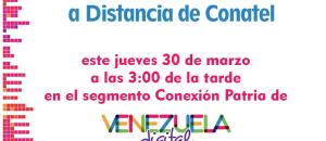 Conatel presenta su Sistema de Formación a Distancia en Venezuela Digital 2017