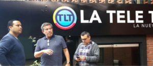 Andrés Eloy Méndez visita Tele Tuya para fortalecer la Producción Nacional