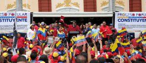 Poder Popular entregó al CNE bases comiciales para la Asamblea Nacional Constituyente