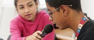 CONATEL enseña a los niños a realizar programas de radio con contenido social