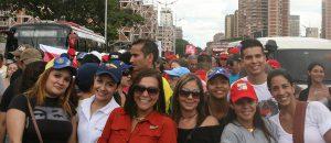 (+Fotos y Video) Fuerza trabajadora de Conatel presente en marcha del 4F