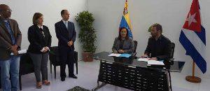 Venezuela y Cuba fortalecen cooperación en materia tecnológica