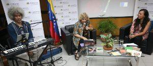 Leonel Ruíz y Marialcira Matute llevan canto y poesía a Conatel