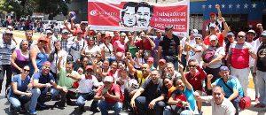 Conatel se mantiene en las calles en defensa de la Patria