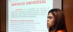 Conatel debate con operadores reforma del reglamento del Fondo de Servicio Universal