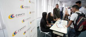 Conatel participó en jornada de primer empleo de la Unefa