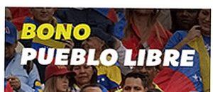 Comenzó la entrega del Bono Pueblo Libre