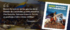 Bonos Victoria de Carabobo 2020 y #QuédateEnCasa benefician al pueblo Venezolano
