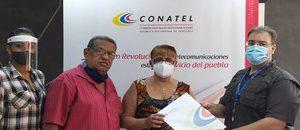 Conatel apoya medios comunitarios con entrega de habilitación a emisora de Maracay