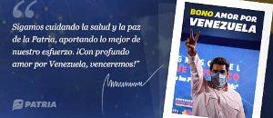 Inició entrega de Bono Amor por Venezuela
