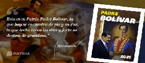 Bono Padre Bolívar llega a través del sistema Patria